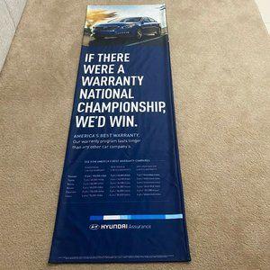 Hyundai Assurance Blue 6x2' Dealership  Banner